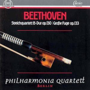 Streichquartette Opp 130,133*P, Philharmonia Quartett Berlin