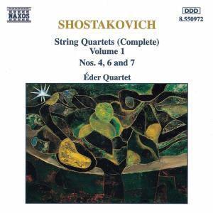 Streichquartette Vol. 1, Eder-quartett