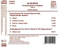 Streichquartette Vol. 1 - Produktdetailbild 1