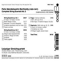 Streichquartette Vol. 2 - Produktdetailbild 1