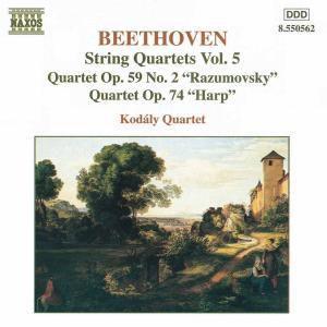 Streichquartette Vol. 5, Kodaly Quartet