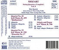 Streichquartette Vol. 8 - Produktdetailbild 1