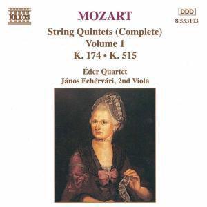 Streichquintette Kv 174/+, Eder-quartett, Janos Fehervari