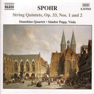 Streichquintette Op.33,1+2, Danubius Quartett, Sandor Papp