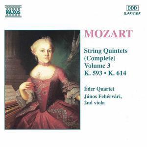 Streichquintette Vol. 3, Eder-quartett, Janos Fehervari