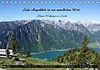 Streifzug durch Landschaften mit Zitaten (Tischkalender 2019 DIN A5 quer) - Produktdetailbild 3