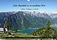 Streifzug durch Landschaften mit Zitaten (Wandkalender 2019 DIN A3 quer) - Produktdetailbild 3