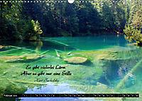 Streifzug durch Landschaften mit Zitaten (Wandkalender 2019 DIN A3 quer) - Produktdetailbild 2