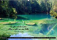 Streifzug durch Landschaften mit Zitaten (Wandkalender 2019 DIN A2 quer) - Produktdetailbild 2