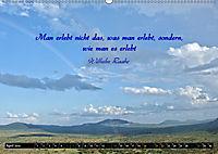 Streifzug durch Landschaften mit Zitaten (Wandkalender 2019 DIN A2 quer) - Produktdetailbild 4