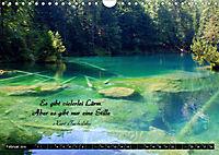 Streifzug durch Landschaften mit Zitaten (Wandkalender 2019 DIN A4 quer) - Produktdetailbild 2