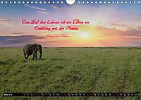 Streifzug durch Landschaften mit Zitaten (Wandkalender 2019 DIN A4 quer) - Produktdetailbild 5
