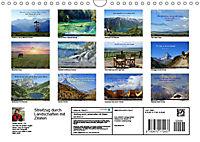 Streifzug durch Landschaften mit Zitaten (Wandkalender 2019 DIN A4 quer) - Produktdetailbild 13