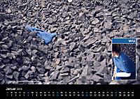 Strick-Blues (Wandkalender 2019 DIN A2 quer) - Produktdetailbild 1