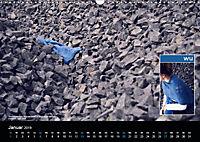 Strick-Blues (Wandkalender 2019 DIN A3 quer) - Produktdetailbild 1