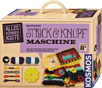 Strick & Knüpfmaschine, Bastelbox