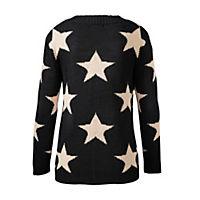 Strickjacke mit Sternemuster, Gr. S - Produktdetailbild 1