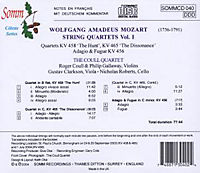 String Quartets Vol.1 - Produktdetailbild 1