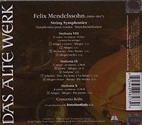 String Sinfonien 8-10 - Produktdetailbild 1