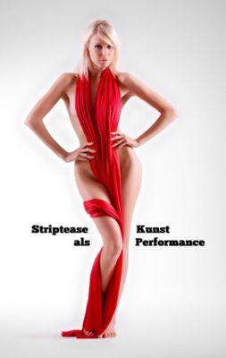 Striptease als Kunst Performance, Ulrich Greiner-Bechert