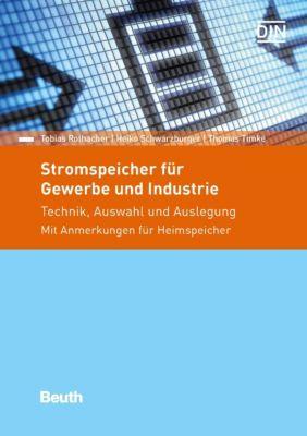 Stromspeicher für Gewerbe und Industrie, Heiko Schwarzburger, Thomas Timke, Tobias Rothacher
