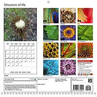 Structure of life (Wall Calendar 2019 300 × 300 mm Square) - Produktdetailbild 13