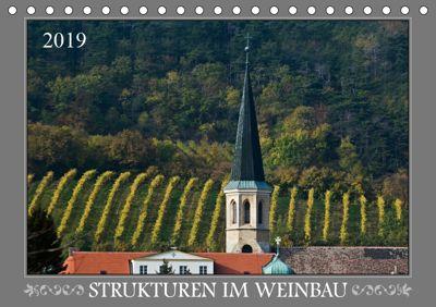 Strukturen im Weinbau (Tischkalender 2019 DIN A5 quer), Werner Braun