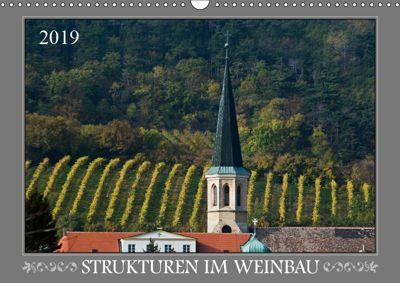 Strukturen im Weinbau (Wandkalender 2019 DIN A3 quer), Werner Braun