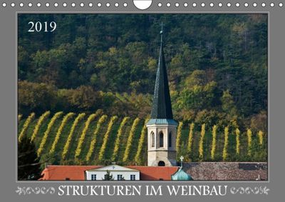 Strukturen im Weinbau (Wandkalender 2019 DIN A4 quer), Werner Braun