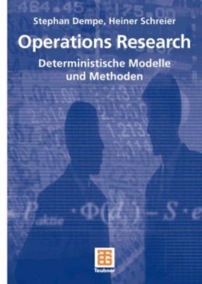Studienbücher Wirtschaftsmathematik: Operations Research, Stephan Dempe, Heiner Schreier