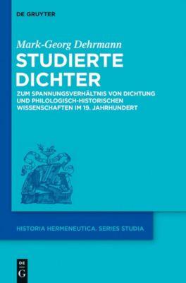 Studierte Dichter, Mark-Georg Dehrmann