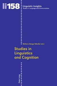 Studies in Linguistics and Cognition