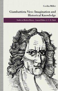 Studies in Modern History: Giambattista Vico, Cecilia Miller