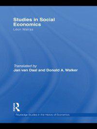 Studies in Social Economics, Leon Walras