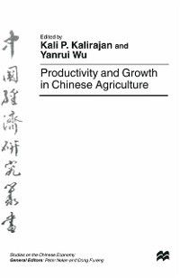 Studies on the Chinese Economy: Productivity and Growth in Chinese Agriculture
