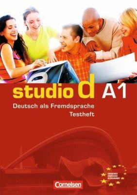 studio d, Grundstufe: Bd.A1 Testheft, m. Audio-CD, Hannelore Pistorius, Nelli Mukmenova