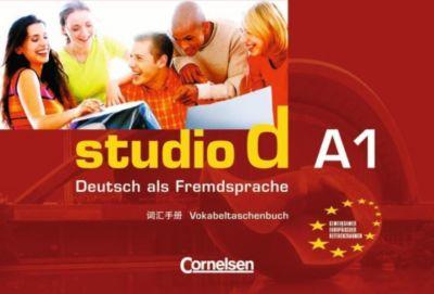 studio d, Grundstufe: Bd.A1 Vokabeltaschenbuch Deutsch-Chinesisch