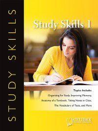 Study Skills: Study Skills: Reference: A Dictionary Tells Parts of Speech, Saddleback Educational Publishing