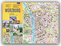 Stürtz Stadtplan Würzburg - Produktdetailbild 1