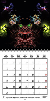 Stunning creepy-crawlies (Wall Calendar 2019 300 × 300 mm Square) - Produktdetailbild 9