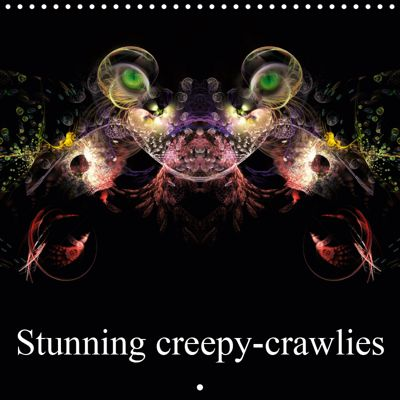 Stunning creepy-crawlies (Wall Calendar 2019 300 × 300 mm Square), Alain Gaymard