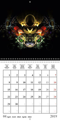 Stunning creepy-crawlies (Wall Calendar 2019 300 × 300 mm Square) - Produktdetailbild 4