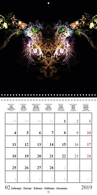 Stunning creepy-crawlies (Wall Calendar 2019 300 × 300 mm Square) - Produktdetailbild 2