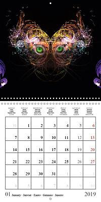 Stunning creepy-crawlies (Wall Calendar 2019 300 × 300 mm Square) - Produktdetailbild 1