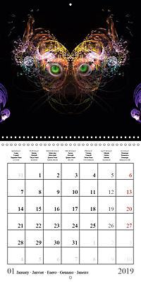 Stunning creepy-crawlies (Wall Calendar 2019 300 × 300 mm Square) - Produktdetailbild 1