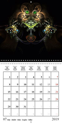 Stunning creepy-crawlies (Wall Calendar 2019 300 × 300 mm Square) - Produktdetailbild 7