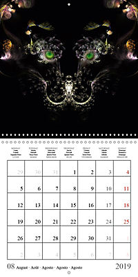 Stunning creepy-crawlies (Wall Calendar 2019 300 × 300 mm Square) - Produktdetailbild 8