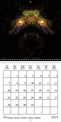 Stunning creepy-crawlies (Wall Calendar 2019 300 × 300 mm Square) - Produktdetailbild 10