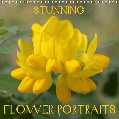 Stunning Flower Portraits (Wall Calendar 2019 300 × 300 mm Square), Gisela Kruse