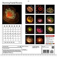 Stunning fractal flowers (Wall Calendar 2019 300 × 300 mm Square) - Produktdetailbild 13